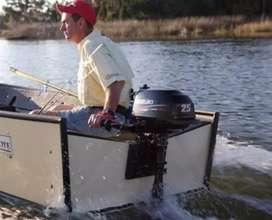 Suzuki 2.5 hp outboard 4 stroke engine for boat