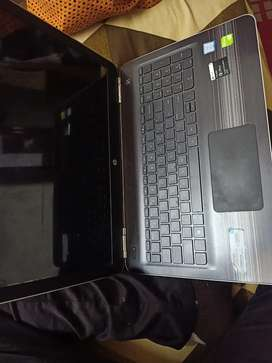 HP PAVILION 15 AU624 TX SILVER COLOUR
