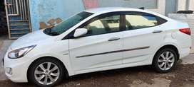 Super clean Hyundai Verna 2011 SX CRDI with Genuine KM