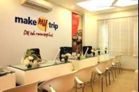 MakeMytrip process hiring Freshers & Experienced  candidates in NCR.