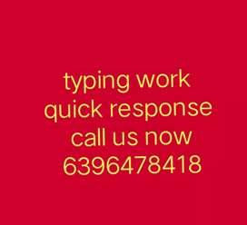 Do you know ? Here, we have typing work for you