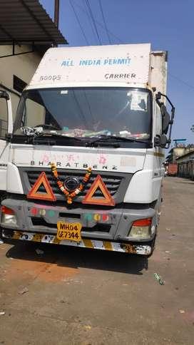 BharatBenz 2523 32ft for sell at PANVEL,Navi Mumbai