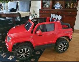 Volkswagen 12V Battery Vw Amarok Kids Ride On Car Pick Up Truck Jeep