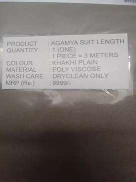 AGAMYA suit length