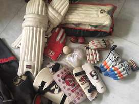 Pro SG cricket kit and then some
