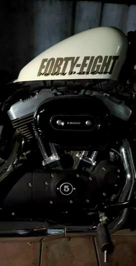 Harley davidson 48(forty eight)(1200cc) Accessories loaded