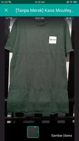 Kaos army hijau