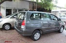 Innova Car for rent on basis of per (13) Per kilometre and
