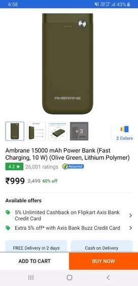 I want to sell my 15000 mah powerbank