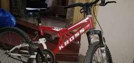 kross single shocker bicycle