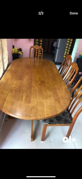 Dining table 6 members