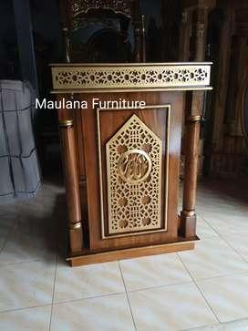 Mimbar furniture podium mpb