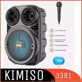 ELEKTRONIK SPEAKER BLUETOOTH KIMISO VMFS-095