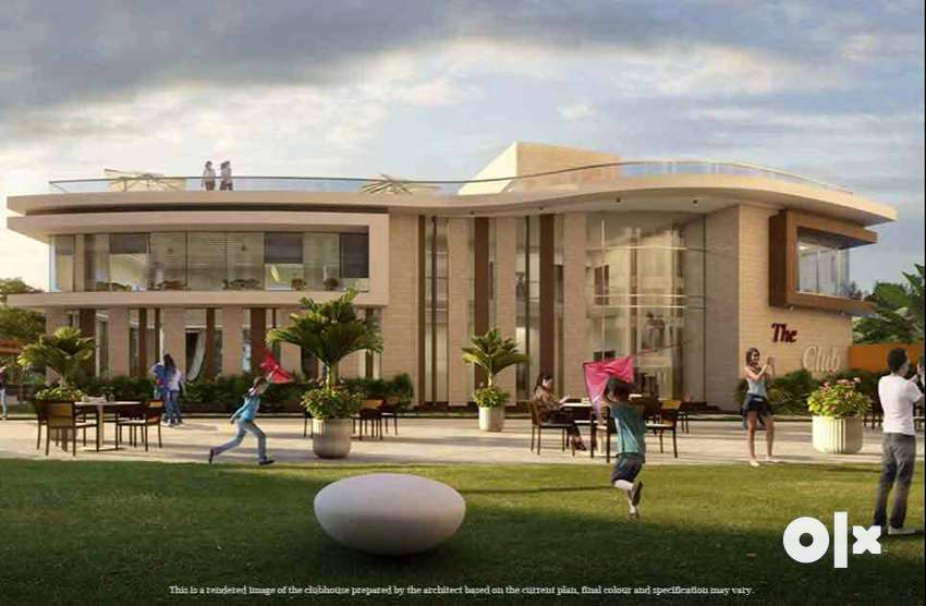 A luxuries project at prime location with all modern amenities