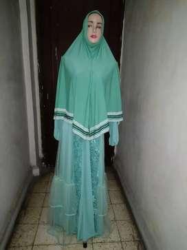 Gamis toska plus hijab