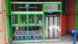 Pembuatan depot air isi ulang