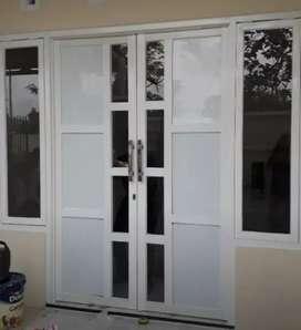 Pintu aluminium murah jendela aluminium murah kusen aluminium murah