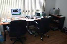 furnished office table chair Rs 8500s starting
