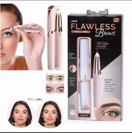 Flawless rechargeable eyebrow trimmer for women
