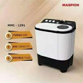 Mesin Cuci Maspion 2 Tabung MMC-1291 (DIJAMIN 100% ORI)