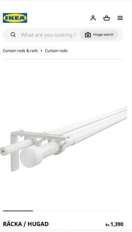 Brand new Curtain Rods IKEA