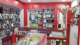 Running mobile accessories shop for Sale or lease