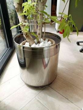 Steel planter for home and office use