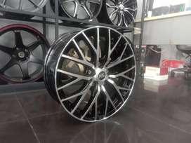 Ready velg new ring17x7.0 pcd5x114.3 et40 on hrv crv brv xxpander rush