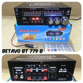 Ampli Mini Betavo BT 779 B Bluetooth Amplifier 4 Speaker FM Radio