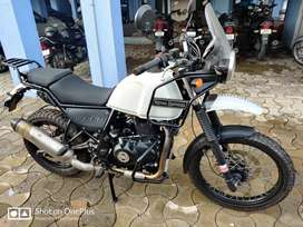 Royal Enfield Himalayan bike for sale in excellent damn new condition