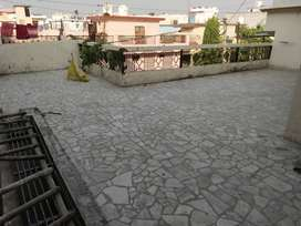1800 sq,2 Bhk, Parking,Own terrace,,Balcony