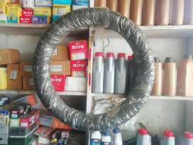 bullet bike tyre ceat one month old ..only