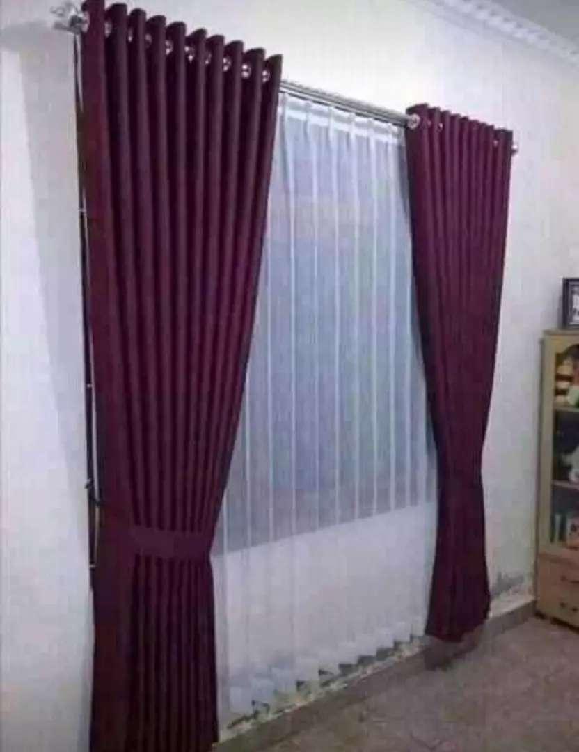 gorden jendela minimalis 732 Curtain blind