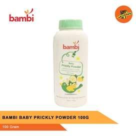 BAMBI BABY PRICKLY POWDER 100G - Bedak Bayi