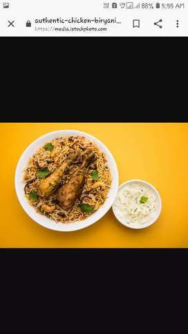 Chinese and south Indian special for  biriyani