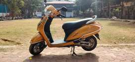 Activa 5G yellow colour 2019 model for sell EMI Available