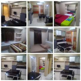 Apartemen Educity Type 3 bed harian dan mingguan terlengkap dan mewah