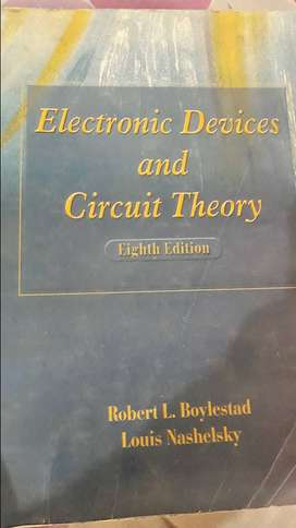 New Electronic devices and circuits theory 8th edition