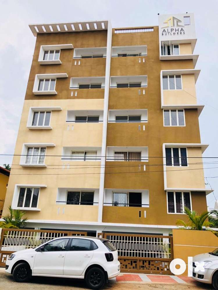 new 2bhk ready to occupy apartment for sale near abad hotel chulickal