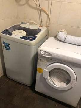 One Washing machine and one Drier