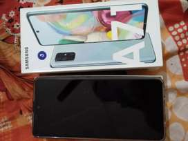 Samsung A71 only 1 day old urgent sell