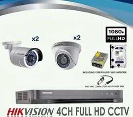Paket lengkap CCTV harga promo// online via HP