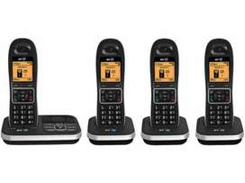 Cordless phone with wireless intercom