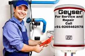 Geyser Servicing and repairing at home 299 visiting charge