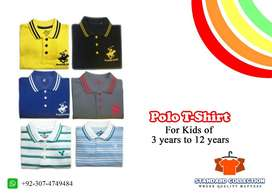 Polo T shirts (Children Size)