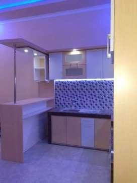 Kitchenset almari lemari backdrop lemari siap kirim