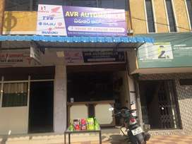 Two wheeler Spares buildup business for sale