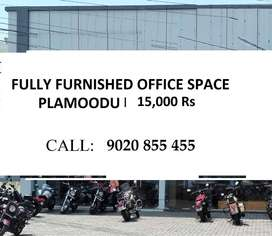 Furnished Office MD room  Available  15,000 Rs Plamoodu