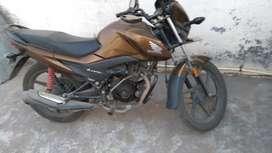 Average 70 km. Honda levo. Model name CBF110H31D