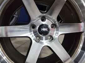 Pelek mobil expander ring 18 HSR TOKYO R16 pcd 5x114,3 bronze polis